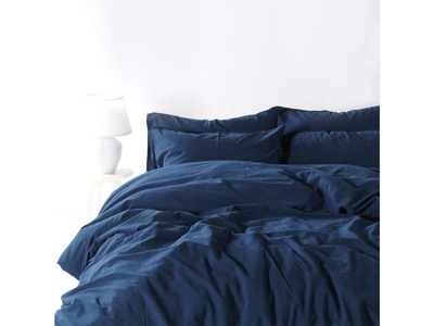 Постельное белье Sound Sleep ранфорс Stonewash Adriatic dark blue