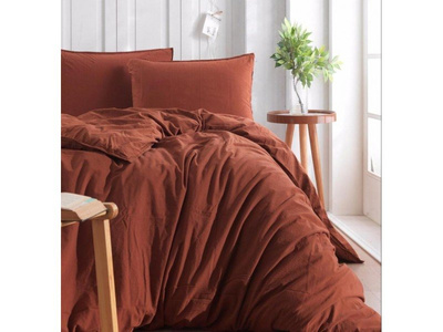 Постельное белье Sound Sleep ранфорс Stonewash Adriatic brown