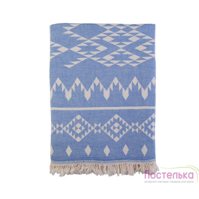 Плед-покрывало Barine - Kilim Throw Blue